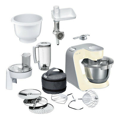 bosch mum58920 k chenmaschine smooth vanilla inkl muz5bs1 baking sensation ebay. Black Bedroom Furniture Sets. Home Design Ideas