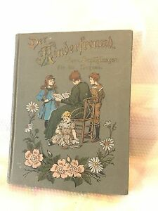 ANTIQUE TURN OF THE CENTURY GERMAN STORY BOOK