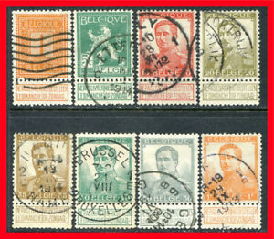 Belgium Postage Stamps Scott 92 94 100 Used Partial Set B985 Ebay