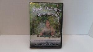 Basic Falconry Equipment - Chef Brad Wood of Northwoods Falconry - DVD - NEW!