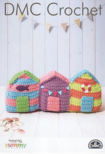 DMC 15385L//2 Beach Huts Crochet Pattern