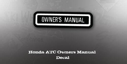 Automotive Motorcycle Accessories informafutbol.com HONDA ATC ...