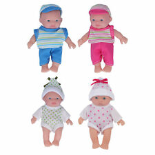 5 Inch Simulation Vinyl Baby Doll Toy Kids Children Gift Doll Toys With Clothes