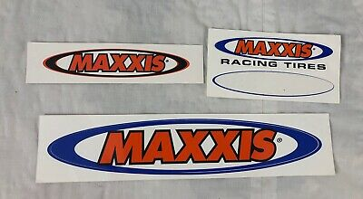 """3-5.5/"""" MAXXIS Tire MOTO Race Toolbox Car BMX BIKE BICYCLE FRAME STICKER DECAL"""