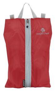 Eagle Creek Pack-it Specter Shoe Sac Schuhsack Sac Volcano Red Rouge Nouveau-afficher Le Titre D'origine