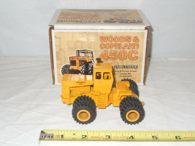 Woods & Copeland 450C 4WD With Cab  By Long Creek Toy's  1/64th Scale