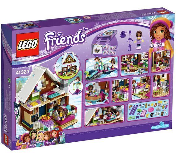 LEGO Friends Snow Resort Chalet 2017 (41323) Best Gift for 7 to 12 Years Kids