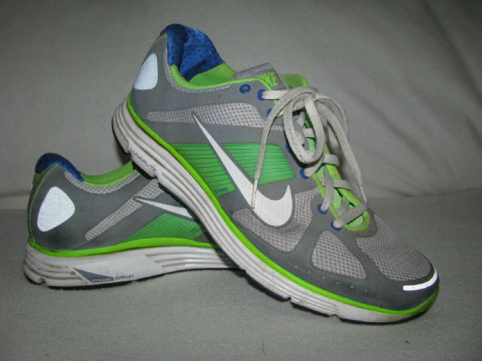 NIKE Lunar Elite Flywire Mens  Sz 12 Athletic Shoes Sneakers 386477-012