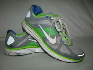 733f852d6372 NIKE Lunar Elite Flywire Mens Sz 12 Athletic Shoes Sneakers 386477 ...