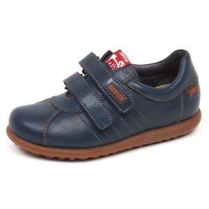 classico il migliore buona vendita E2330 sneaker bimbo blu denim CAMPER scarpe strappi shoe baby kid ...