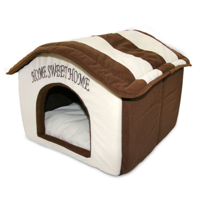 Cozy Indoor Portable Pet Dog Cat House Bed Soft Warm Fleece Cushion Pad Washable For Sale Online Ebay