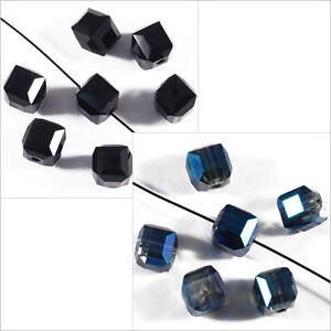 10-perles-a-Facettes-Cubes-6-mm-en-Cristal-de-Boheme