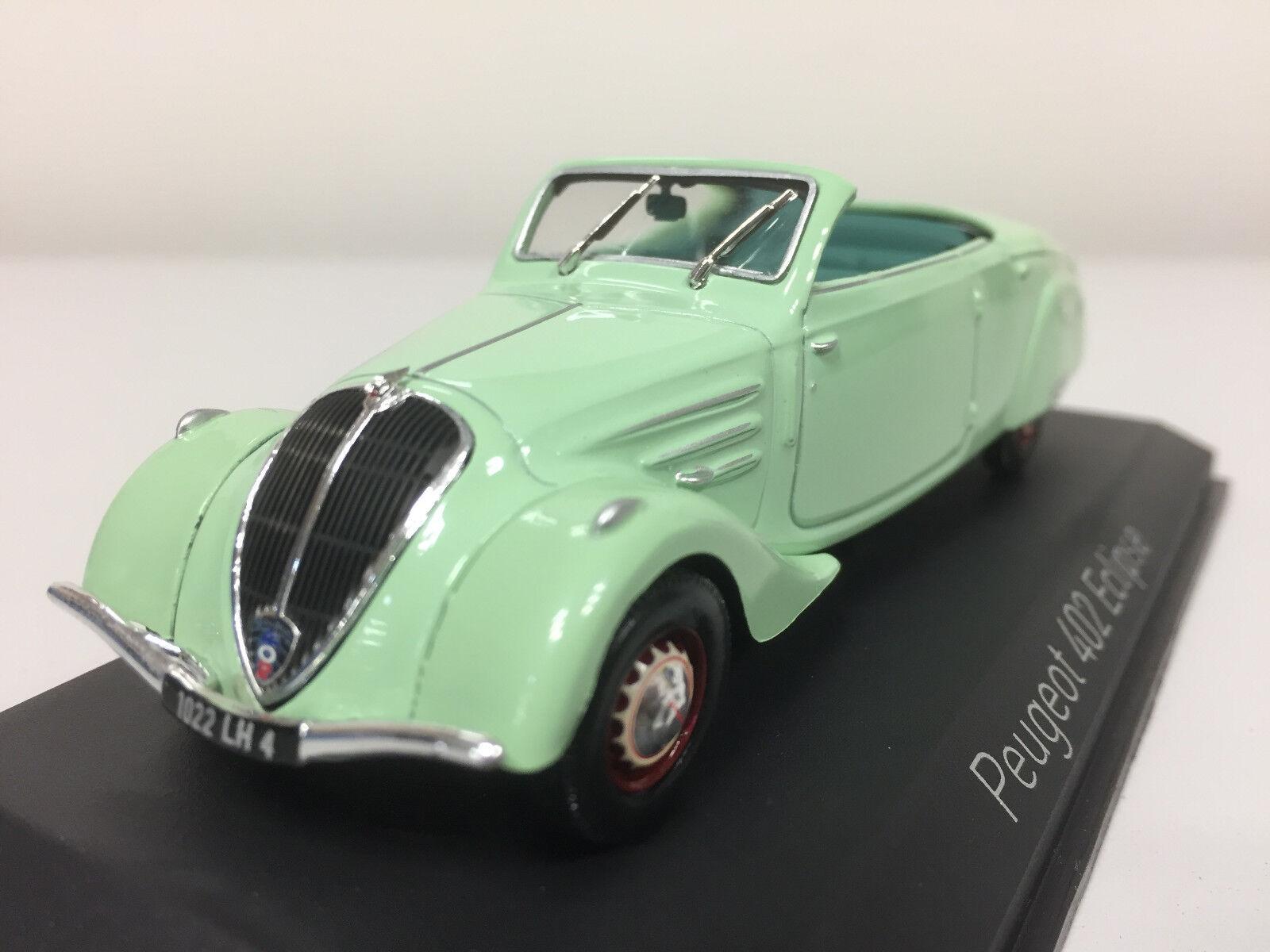 Norev Peugeot 402 Eclipse 1937 Light Green 1 43 474218 474218 474218 e283d5