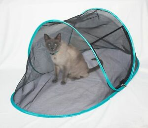 Image is loading The-Cat-House-Outdoor-Pet-Enclosure-for-Indoor- & The Cat House Outdoor Pet Enclosure for Indoor Cats Portable View ...