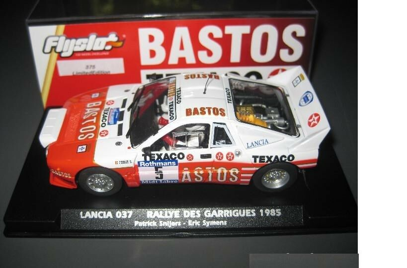 Flyslot 046303 LANCIA 037 RALLY THE GARRIGUES1985 1 32 NEW