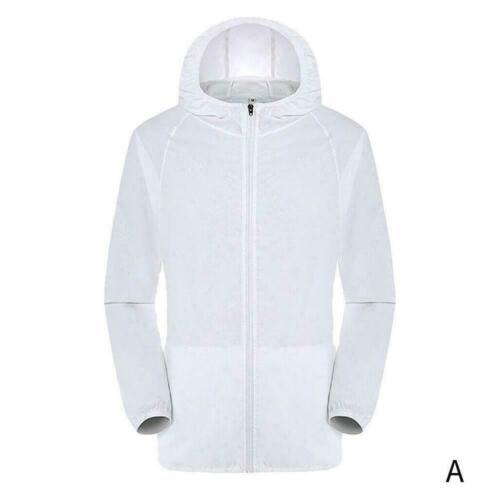 Men/'s Women Casual Jackets Windproof Ultra-Light Rainproof Top Windbreaker M8G0