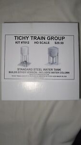 Tichy ho scale standard steel water tank kit with water column item image is loading tichy ho scale standard steel water tank kit freerunsca Choice Image
