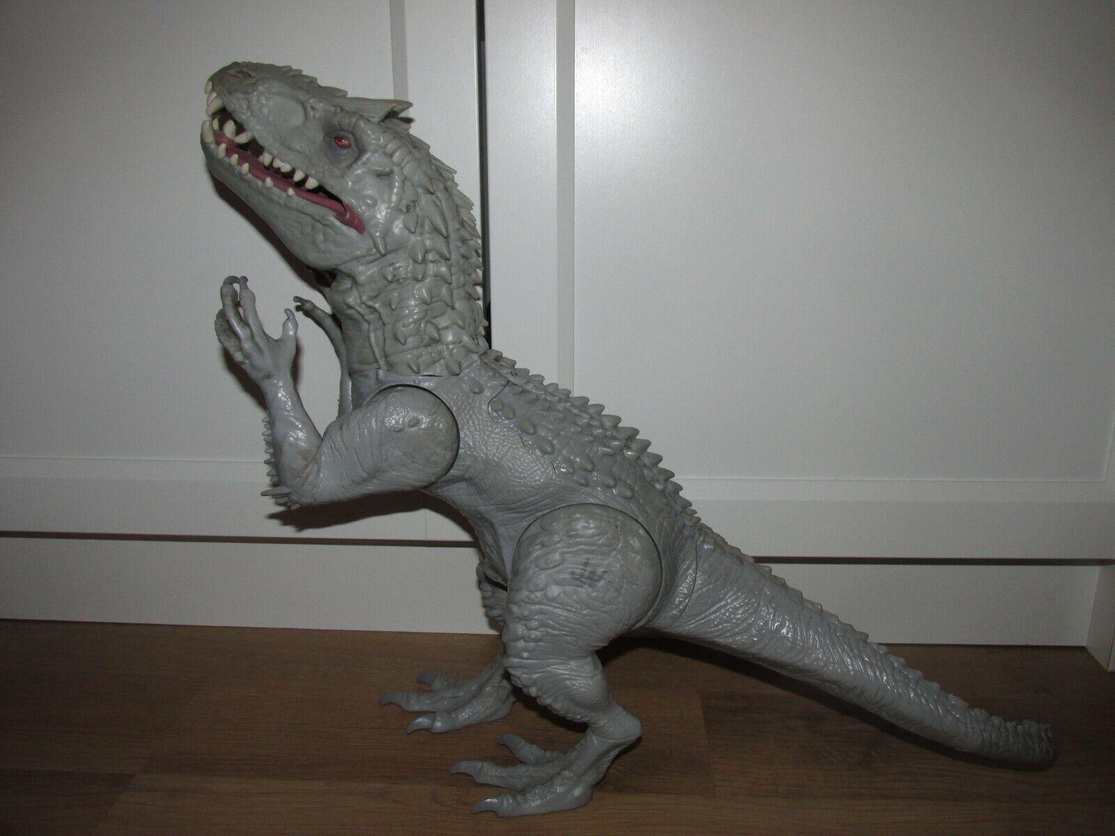 Jurassic World Rare indominus Rex Dinosaure 20  Roabague lumières  and sound's  Envoi gratuit pour toutes les commandes