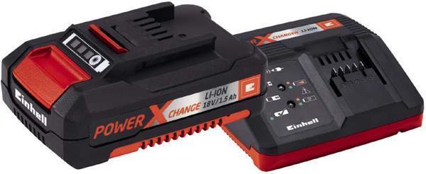 Einhell Power-X-Change Starter Kit Akku 18 V/1,5 Ah und Ladegerät