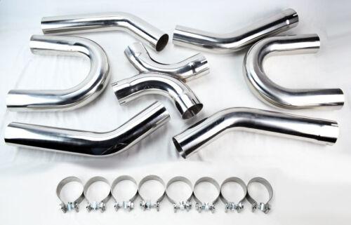 "Chevy Monte Carlo 64-88 LS Engine Swap 3/"" Universal Exhaust Pipe Builder Kit"