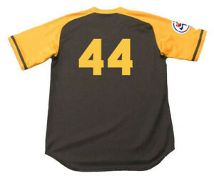 87d2224d Image is loading WILLIE-McCOVEY-San-Diego-Padres-1976-Away-Majestic-