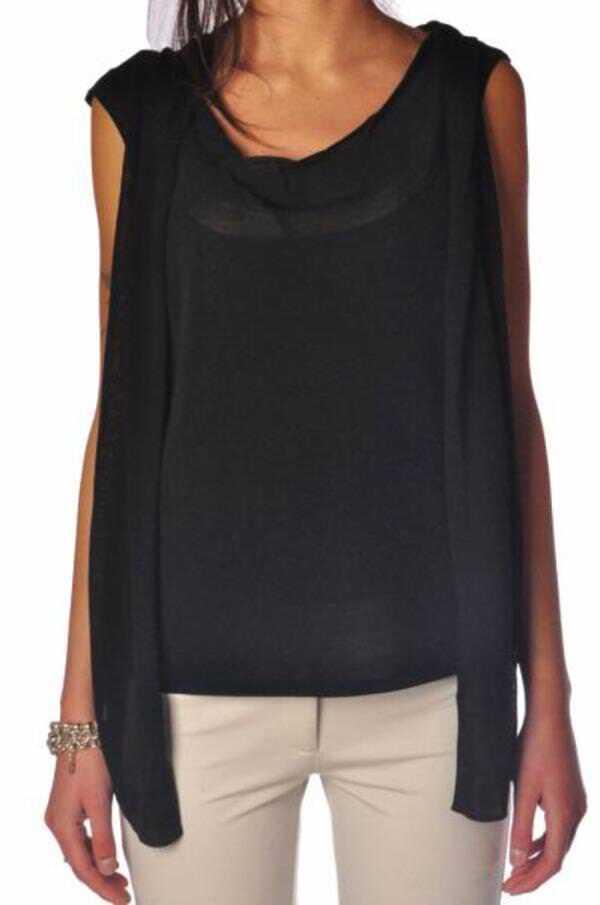 Patrizia Pepe - Topwear-Tops - Woman - schwarz - 1030118C184130