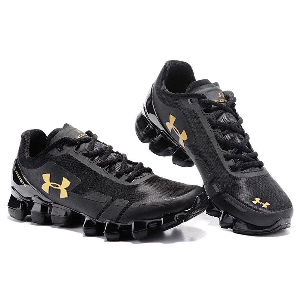 wholesale dealer 98371 49d7e Details about 2018 Men's Under Armour Mens UA Scorpio Running Shoes Leisure  shoes Black/Gold