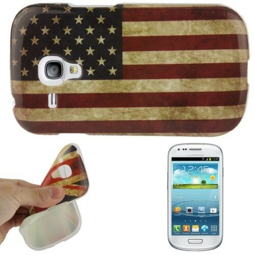 USA Case Sleeve Cover Protection Back for Samsung Galaxy S3 Mini i8200