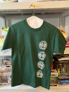 Independent-Skateboard-Shirt-Truck-Co-Forest-Green-Small-45-Retail
