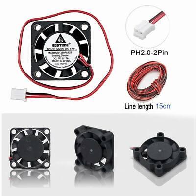 1pcs 25*25*7mm DC 5V 12V Brushless Heatsink Cooling Fan 2507 UK