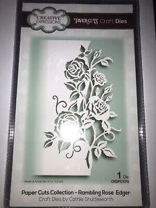 Creative Expressions Papier Coupes déligneuse Craft Dies-Rambling Rose-PDEC 1076