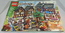 *New* LEGO 10193 Castle Knights Medieval Market Village dented box NIB Sealed