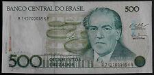 Brasilien Brazil 500 Cruzados 1987-P-212c-unzirkulierte Banknote-UNC-