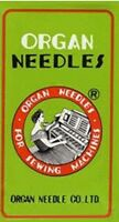 ORGAN 15X1 SIZE# 9,10,11,12,14,16,18 & 20  HOME SEWING MACHINE NEEDLES 100 TOTAL
