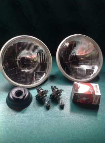 "Head Lights Lamps BEAM H4 7/"" DATSUN B10 VB10 B110 B210 210 B310 310 120Y 140Y"