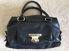 Authentic Marc Jacobs Women's Leather Hand Bag Shoulder Black Purse