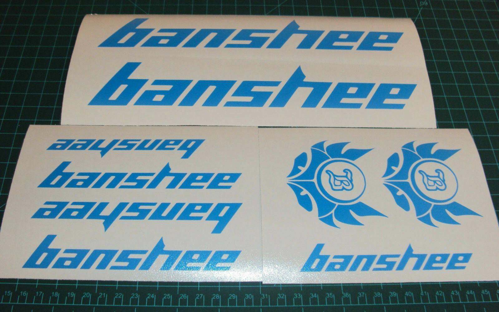 Banshee Bike Decals Sticker Set 6 MTB DH Freeride Legend Rampant Prime