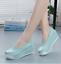 thumbnail 7 - Women Wedge Pumps Heel Work Flats Nurse Loafers Round Toe Oxfords Nursing Shoes