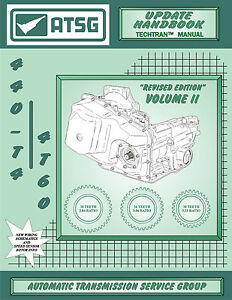 2 Cadillac Chevy Olds Buick ATSG Tech Manual 440T4 440 4T60 Update ...