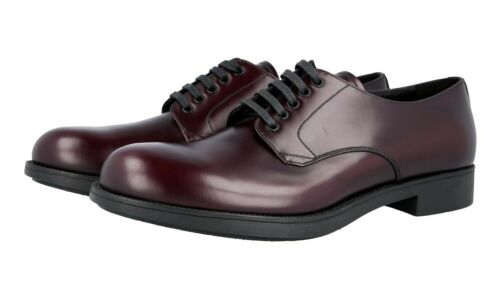 Cordovan 41 Nuovo 41 5 Prada Shoes Business 2ee212 7 Derby Lusso zwXx7HFq