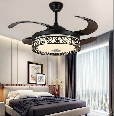 42 Ceiling Fan Light Remote Bluetooth Speaker Led 3 Light