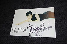 FILIPPA GIORDANO signed Autogramm auf 10x15 cm Autogrammkarte InPerson LOOK