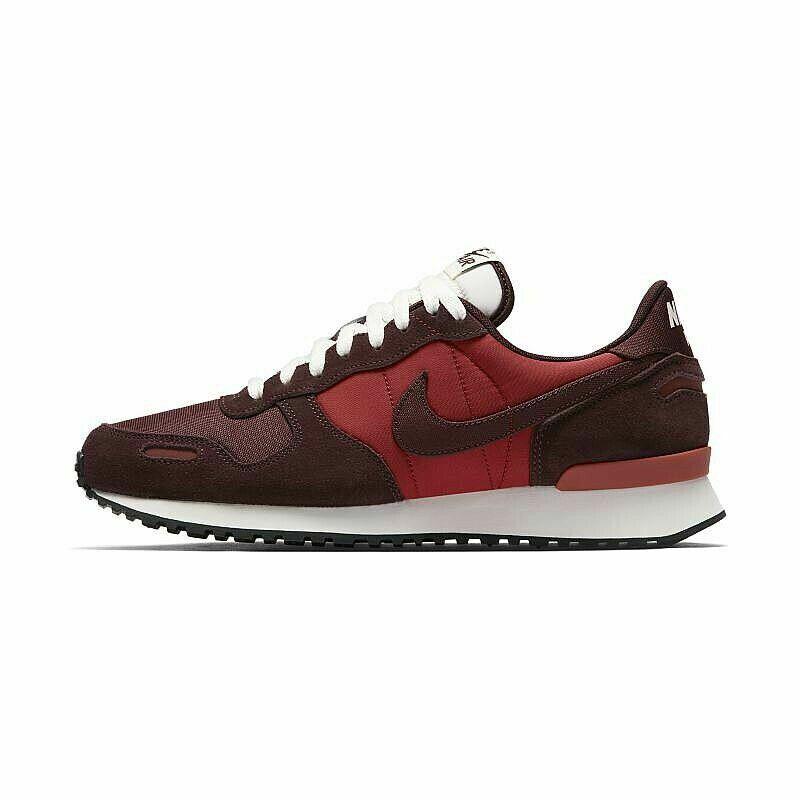 Nike Leder Wildleder Herren US 8 UK 7 EUR 40 Rot