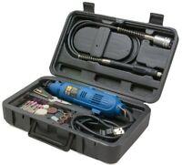 Rotary Tools Kit Set Handiwork Craftsman Jewelry Tool Flex Shaftcase 80-piece