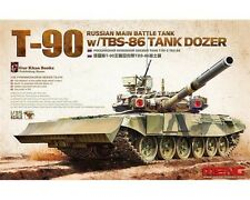 MENG RUSSIAN T-90 TANK W/TBS 86 TANK DOZER 1/35 COD.TS014