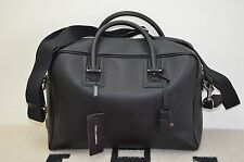 Dolce & Gabbana Made in Italy Leather Satchel Briefcase Large Messenger Bag