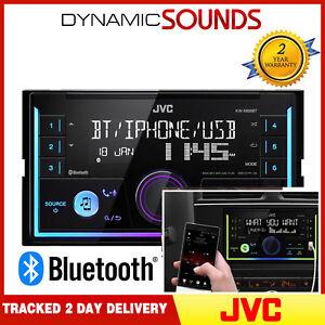 JVC-KW-X830BT-Mechless-Double-Din-Bluetooth-Aux-USB-MP3-Car-Van-Taxi-Stereo