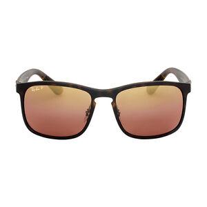 Ray Ban Chromance Nylon Frame Purple Lens Sunglasses RB4264