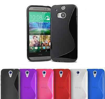 SALE!!! S-Line Soft Silicon Gel Case For HTC Desire 510 + Free Screen Protector