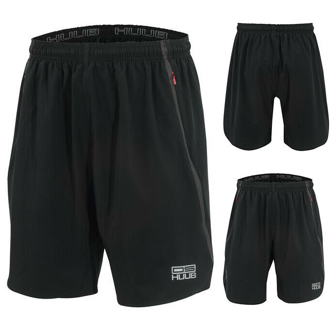HUUB Dave Scott Training Shorts Mens Running Gym Triathlon Tri Sizes XS-XXL